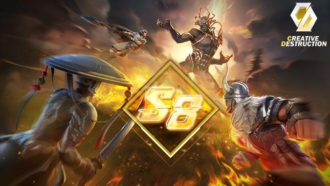 Creative Destruction: A Sandbox Survival Game on Mobile